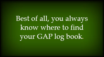 You can always find your logbook